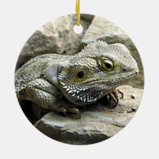 Bearded Dragon Ceramic Ornament
