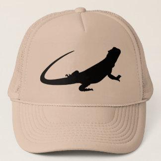 Bearded Dragon has Trucker Hat