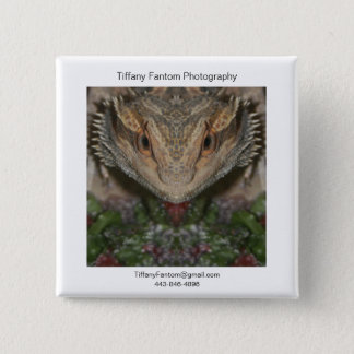 Bearded Dragon Promo 2 Inch Square Button