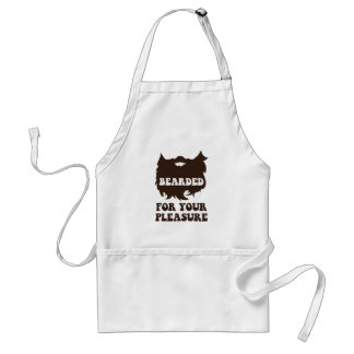 Bearded For Your Pleasure Standard Apron