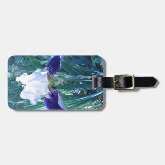 Bearded Iris Cultivar Mary Todd Luggage Tag