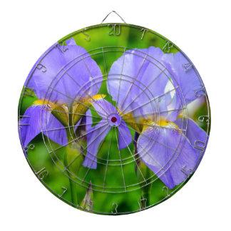 Bearded Iris Dartboard