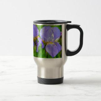 Bearded Iris Travel Mug