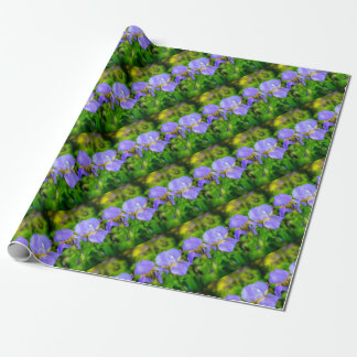 Bearded Iris Wrapping Paper