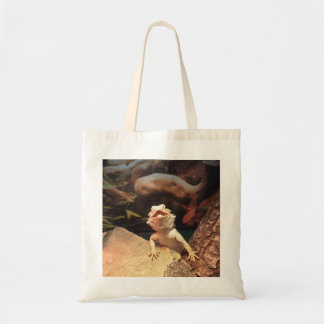 Bearded Lizard Tote Bag