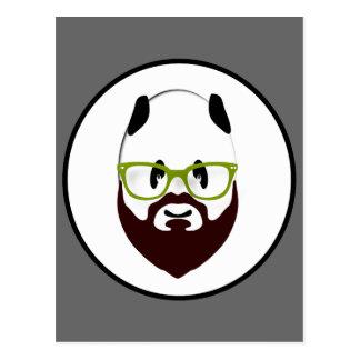 Bearded Panda Postcard