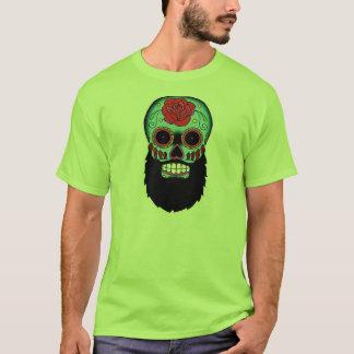 Bearded Sugar Skull T-Shirt