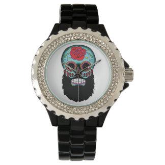 Bearded Sugar Skull Watch