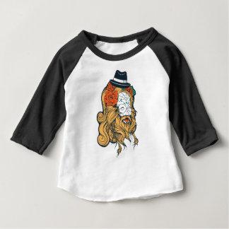 bearded women girl baby T-Shirt