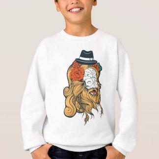 bearded women girl sweatshirt