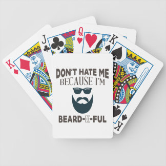 Beardeeful Bicycle Playing Cards