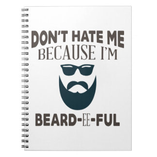 Beardeeful Spiral Notebook