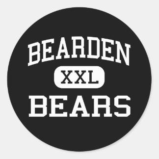Bearden - Bears - High School - Bearden Arkansas Classic Round Sticker