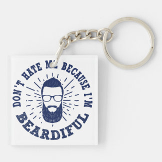 Beardiful Keychain