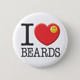 Beards 2 Inch Round Button