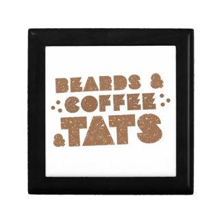 beards and coffee and tats jewelry box