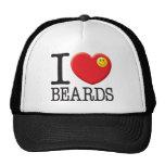 Beards Love Mesh Hats
