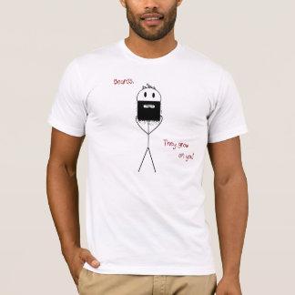 Beards. they grow on you T-Shirt