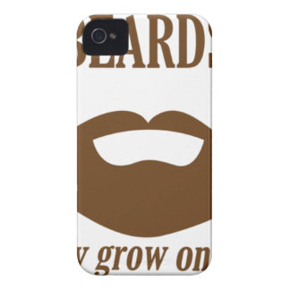 BEARDS THEY GROWN ON YOU iPhone 4 CASE