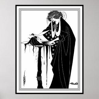 Beardsley - Head on a Platter The Dancer s Reward Poster