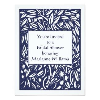 Beardsley Nouveau Bridal Shower Invitation