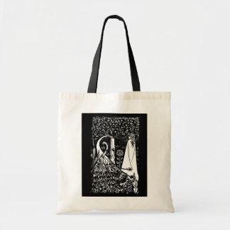 Beardsley Peacock & Lady Tote Bag