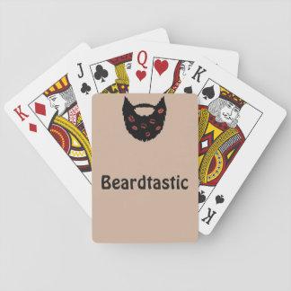 Beardtastic Playing Cards