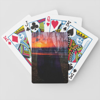 BEARER OF EVENING'S LIGHT BICYCLE PLAYING CARDS