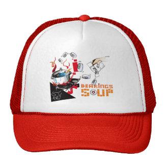 Bearing Soup Pixel Trucker Hat