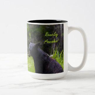Bearly Awake Two-Tone Coffee Mug