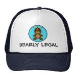 Bearly Legal Teddy Bear Trucker Hat