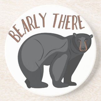 Bearly There Coaster