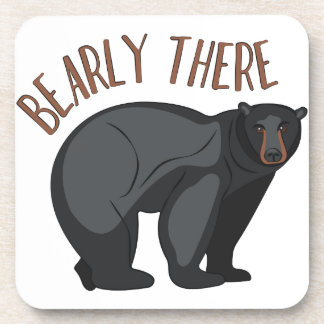 Bearly There Drink Coasters
