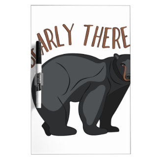 Bearly There Dry-Erase Whiteboard