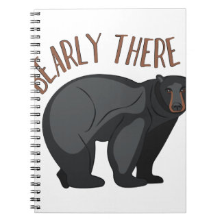 Bearly There Notebooks