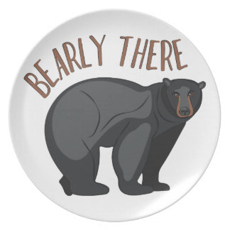 Bearly There Plate