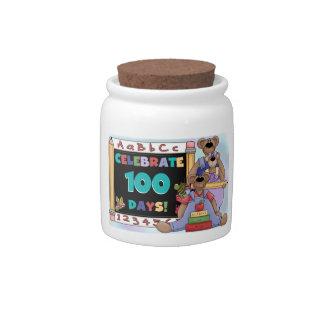 Bears 100 Days of School Candy Jars
