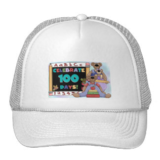Bears 100 Days of School Mesh Hats