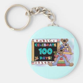 Bears 100 Days of School Key Chain