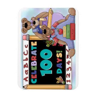 Bears 100 Days of School Magnet