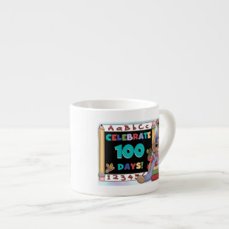 Bears 100 Days of School Espresso Cup
