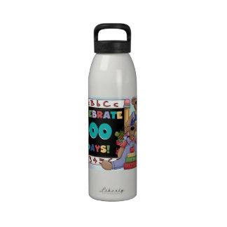 Bears 100 Days of School Drinking Bottle