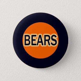BEARS 2 INCH ROUND BUTTON