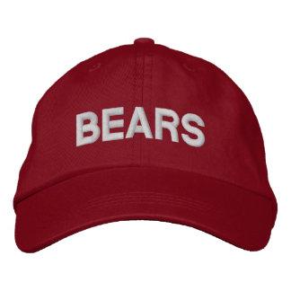 Bears Adjustable Cap Embroidered Baseball Cap
