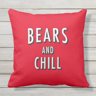Bears and Chill Pillow