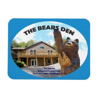 Bears Den Cabin Magnet