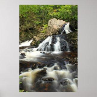 Bear's Den Waterfall Swift River Poster