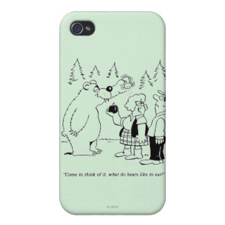Bears Dinner iPhone 4/4S Covers
