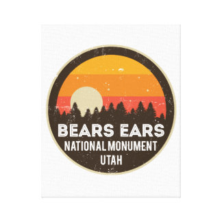 Bears Ears National Monument Canvas Print