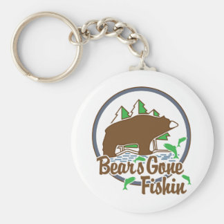 Bear's Gone Fish'n Keychain